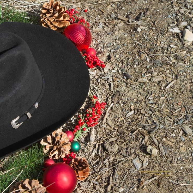 Have a Montana Christmas fit for a cowboy at a Montana dude ranch.