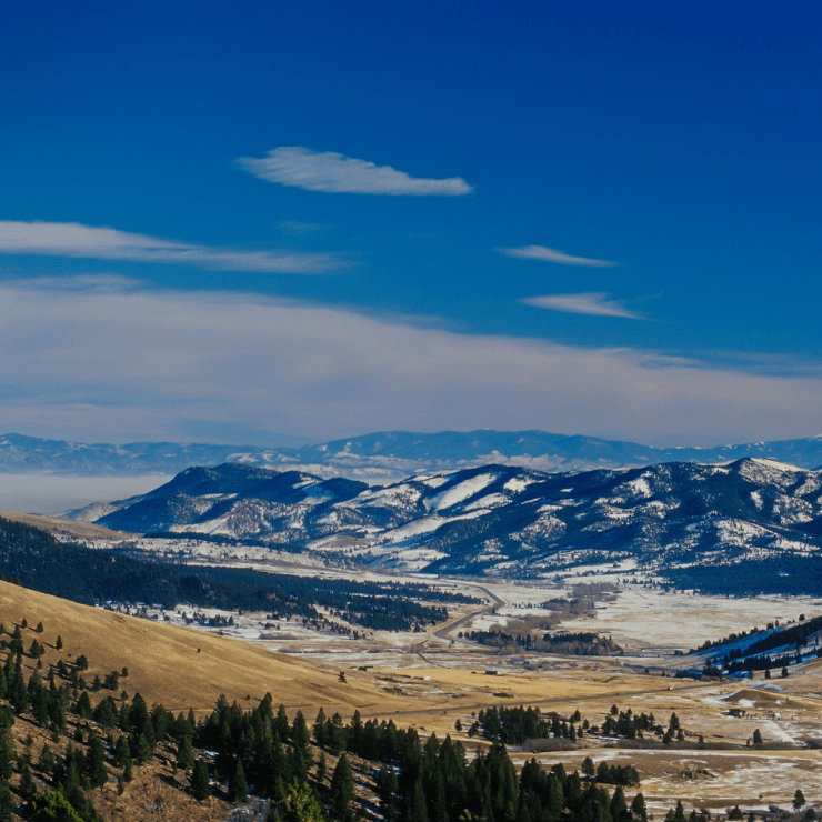 Montana Winter Mountain and Plains | What to Expect When Visiting Montana in November