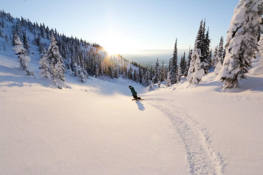 Whitefish Mountain Resort near Kalispell, Montana