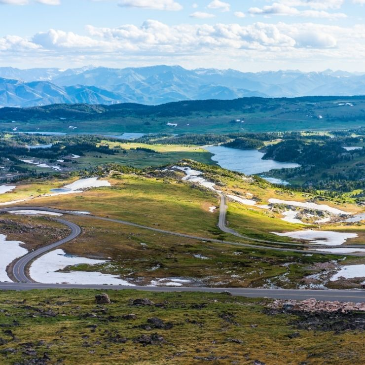 The winding beauty of Montana's Beartooth Highway