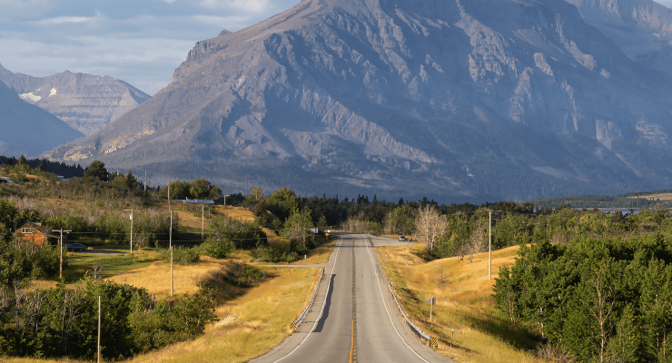 The best scenic drives in Montana