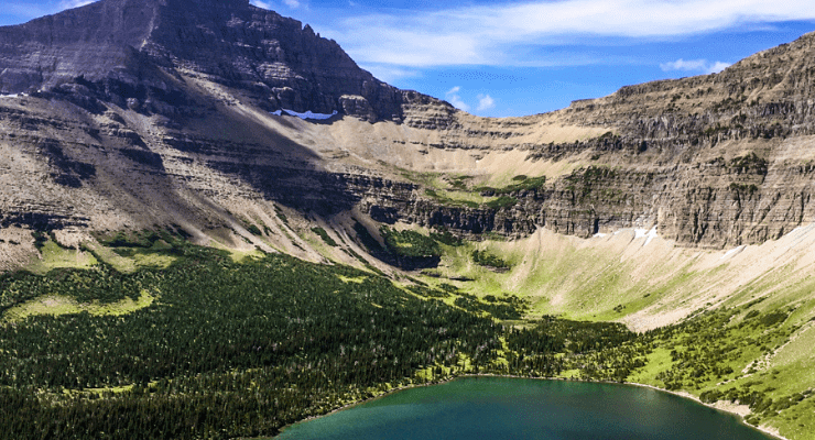 The Dawson Pitamakan Loop is one of the best hikes in Glacier National Park