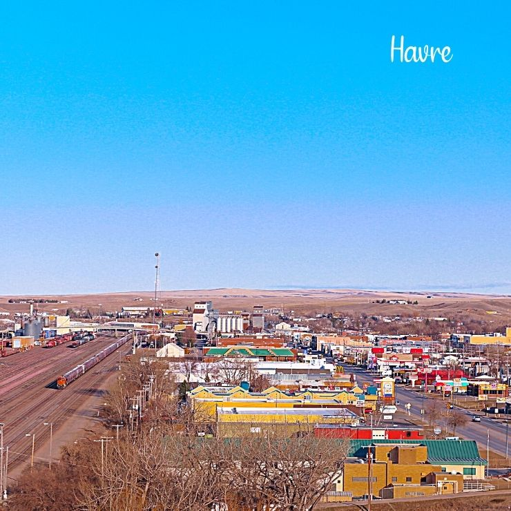 It's what's under the streets of the small town of Havre, Montana that makes it a hidden gem of Montana.
