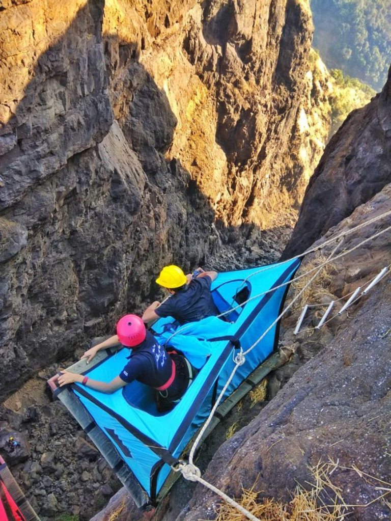 Cliffside camping india