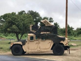 sweet military ride