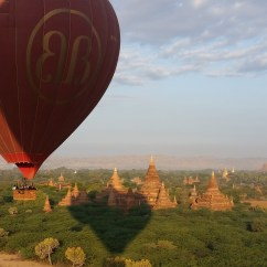 Birma Balloons over Bagan
