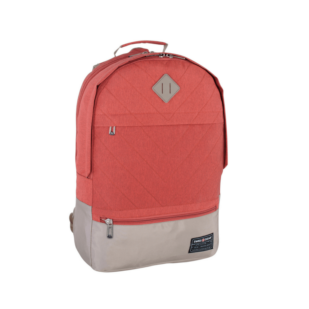 a4adf0639b Swiss Gear 15.6 Laptop Backpack Orange Beige SWA2526-081 Front 1
