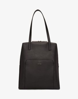 Matt and Nat Edle Tote Dwell Collection Black Front