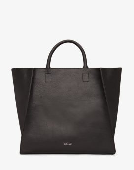 Matt and Nat Loyal Tote Dwell Collection Black Front