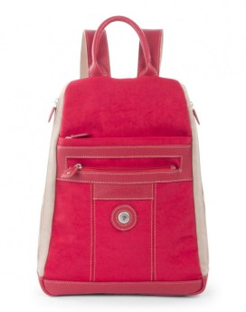 Mouflon Bicolor Backpack BKP3737 Red Taupe Front