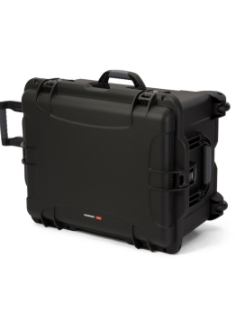 Nanuk 960 Wheeled Case Black Front 1