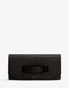 Matt and Nat Abiko Clutch Dwell Collection Black Front