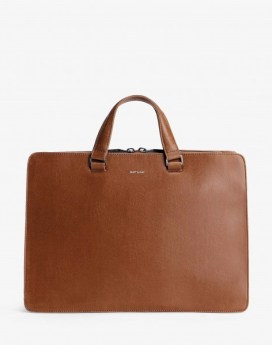 Matt and Nat David Briefcase Vintage Collection Chili Front