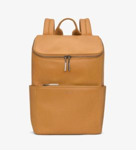 Matt-and-Nat-Brave-Backpack-Dwell-Collection-Sand-Front