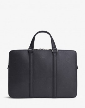 Matt and Nat Harman Briefcase Dwell Collection Ink Front