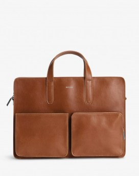 Matt and Nat Soren Briefcase Vintage Collection Chili Front