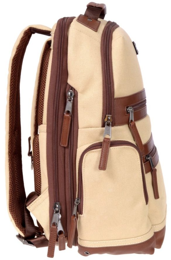Renwick Business Backpack A2150-Cream Side Right