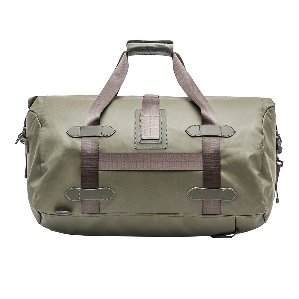 Renwick Travel Roll Top Duffel Bag With Backpack Straps Green Travel N Gear