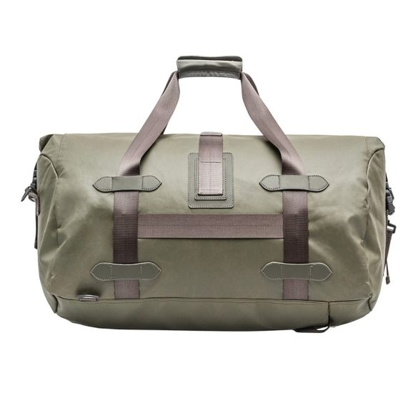 Renwick Travel Roll Top Duffel Bag with Backpack Straps B0380 RW Green Back