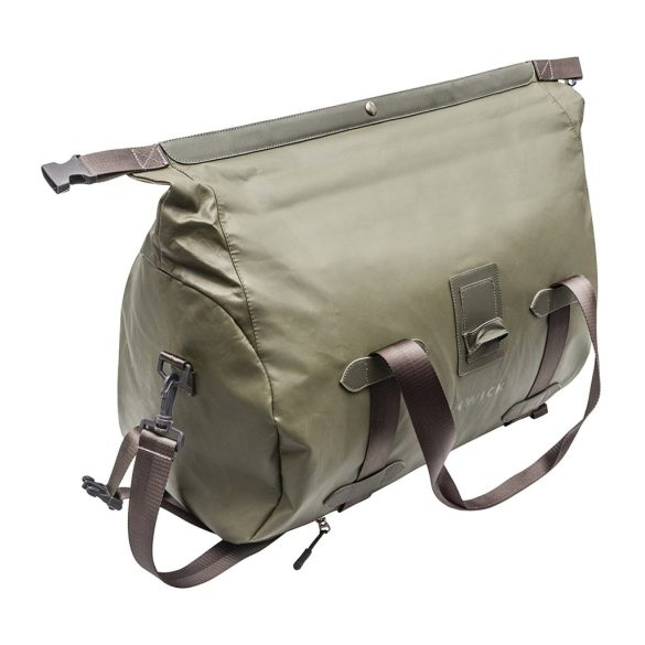 Renwick Travel Roll Top Duffel Bag with Backpack Straps B0380 RW Green Close