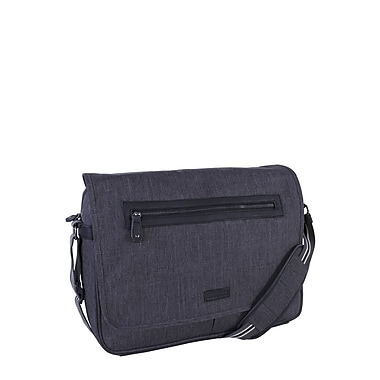 Roots 73 15.6inch Laptop Messenger Bag RTS3462 Grey Front