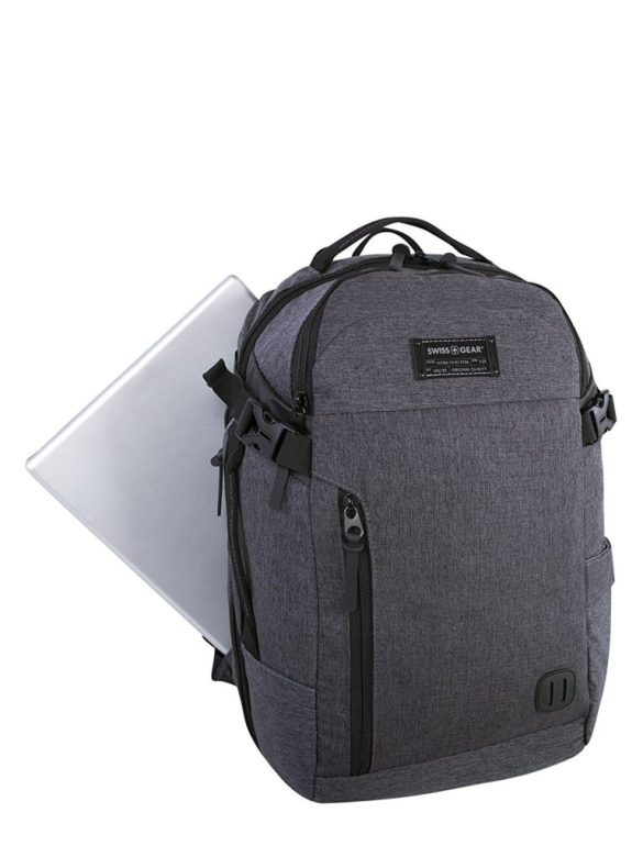 Swiss Gear Getaway 15.6 inch Laptop Backpack SW22308 Grey Front Laptop