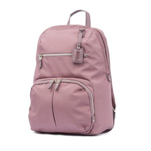 Travelpro Pathway Collection Poly Backpack Dusty Rose TP22206 Front 1