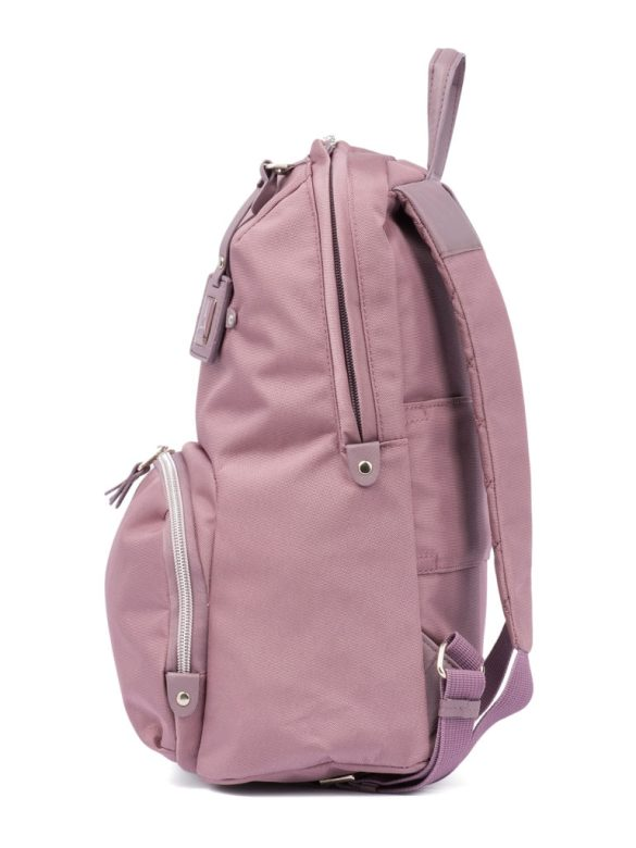 Travelpro Pathway Collection Poly Backpack Dusty Rose TP22206 Side