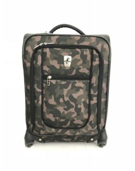 Atlantic Explorer Carry-On Spinner AL47170 Green Camo Front 1