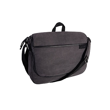 Roots 73 15.6 inch Laptop Canvas Messenger RTS3437W Grey
