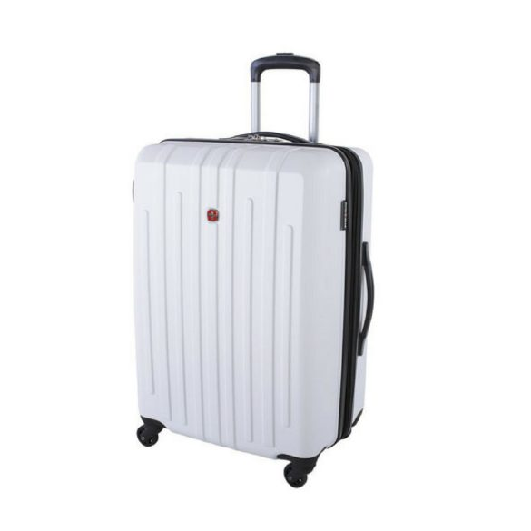 Swiss Gear Blackcomb Carry-On Hardcase Spinner SW10469 White Front