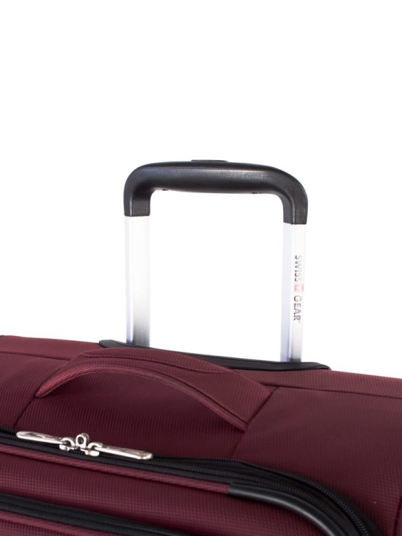 Swiss Gear Mendrisio Collection Carry-On Spinner SW40169 Red Handle