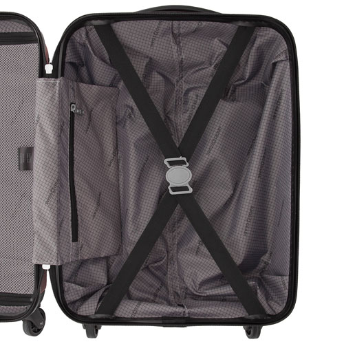 Swiss Gear Significance 20 inch Hardcase Carry-On SW17069 Red Inside