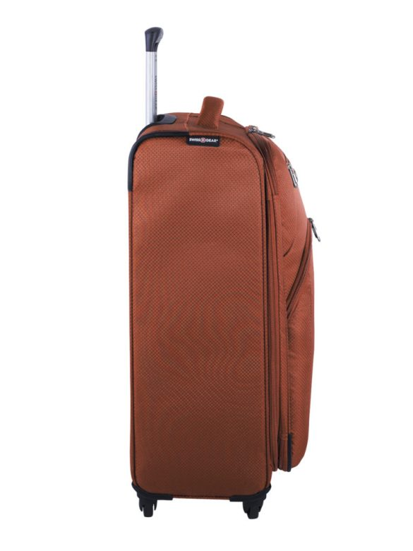 Swiss Gear Super Lite II Collection 24 inch Expandable Spinner SW28574 Burnt Orange Side Right