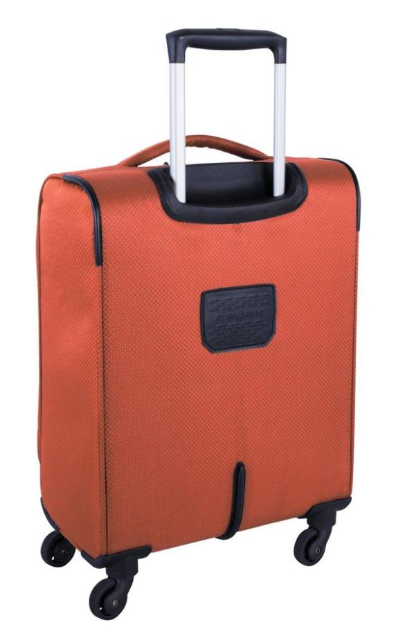 Swiss Gear Super Lite II Collection Carry-On Spinner SW28568 Burnt Orange Back