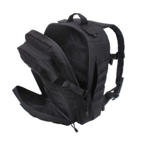 Rothco Fast Mover Tactical Backpack Black 2290 Inside