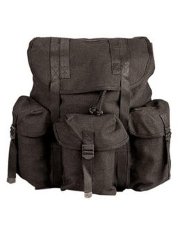 Rothco G.I. Type Heavyweight Backpack Black 2477