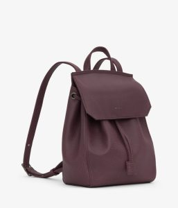 Matt and Nat Mumbai SM Backpack Dwell Collection Fig Side
