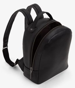 Matt and Nat Olly Backpack Dwell Collection Black Inside