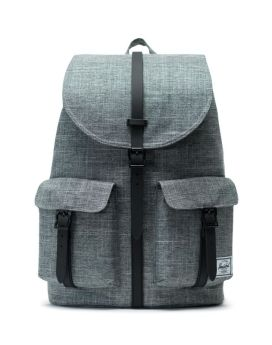 Herschel Supply Co Dawson Backpack Raven Crosshatch Black Front