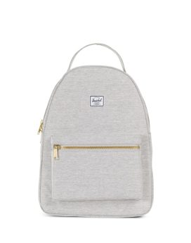 Herschel Supply Co Nova Backpack Mid-Volume Light Grey Crosshatch Front