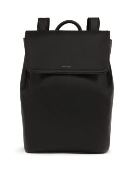 Matt and Nat Fabi Backpack Vintage Collection Black Front