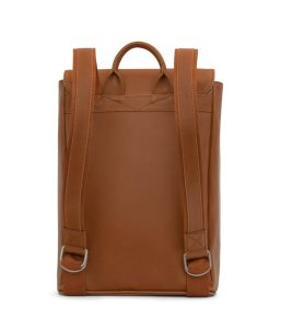 Matt and Nat Fabi Backpack Vintage Collection Chili Matte Nickel Bsck