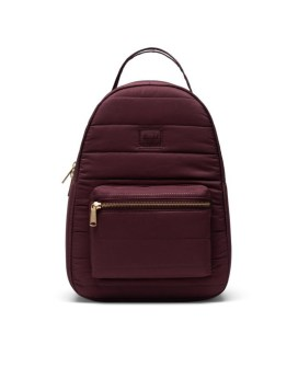 Herschel Supply Co Nova Backpack Small Plum Quilted Front 1
