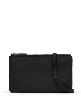 Matt and Nat Triplet Crossbody Dwell Collection Black Front