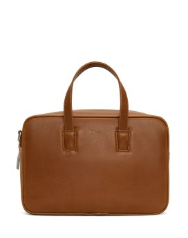 Matt and Nat Kensi Satchel Vintage Collection Chili Matte Nickel Front