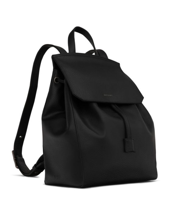 Matt and Nat Mumbai Backpack Dwell Collection Black Side