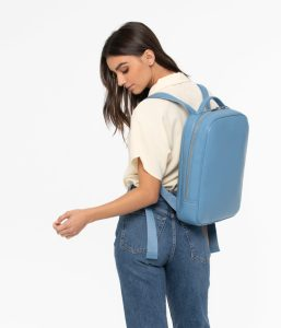 Matt and Nat Alex Backpack Loom Collection Black Rose Gold Model