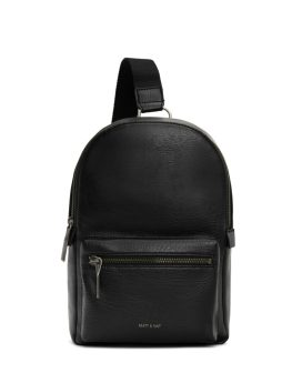 Matt and Nat Voas SM Small Sling Bag Dwell Collection Black Front
