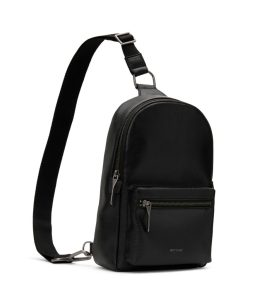 Matt and Nat Voas SM Small Sling Bag Dwell Collection Black Side